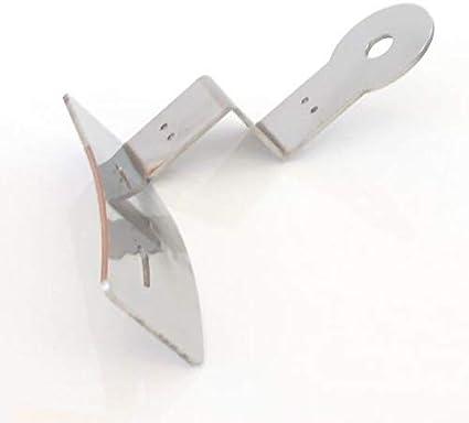 TRUCKDANET Soporte de antena CB de acero inoxidable para camiones Actros MP2
