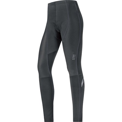 GORE BIKE WEAR Women's Element lady WINDSTOPPER Soft Shell Tights+, Black, Medium (Windstopper Soft Pant Shell)