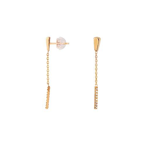 CLEOR Boucles d'oreilles CLEOR Or 375/1000 Diamant Femme