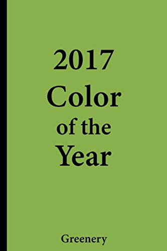 - 2017 Color of the Year - Greenery: College Ruled Notebook