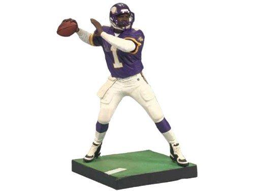 McFarlane Toys NFL Sports Picks Legends Series 6 Action Figure Warren Moon (Minnesota Vikings) Purple Jersey Bronze Collector Chase