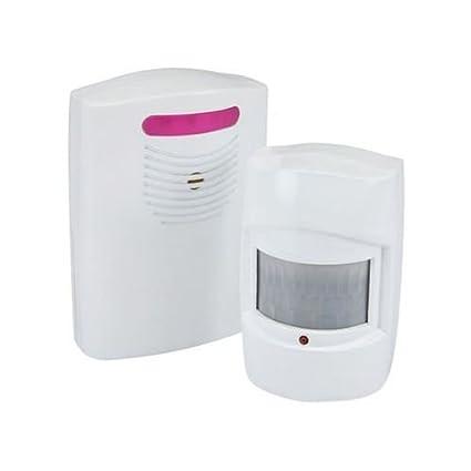Inalámbrico Entrada Alerta de Garaje PIR Sensor de Movimiento Sistema de Alarma Seguridad contra Intrusos