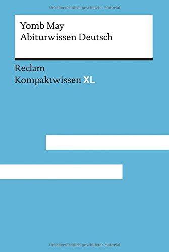 Abiturwissen Deutsch  Kompaktwissen XL