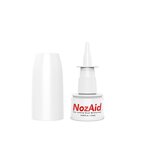 Nasal Spray Moisturizer with Sesame Oil .34 Ounce - Moisturizing Lubricant for Dry, Crusty, Cracked, Stuffy Nose Relief, Nosebleeds, Clear Breathing - Fragrance and Preservative Free by - Moisture Spray Nasal