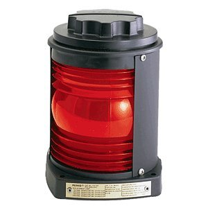 Series 1127-1130 Navigation Light (Type: Red Side Light Visibility Arc: 112.5) By Perko, Inc.
