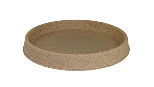 Tusco Products TR30SS Round Saucer, 30-Inch Diameter, Sandstone by Tusco Products