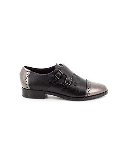 Piel De Pitillos 1353 Negro Zapato zE18qW8
