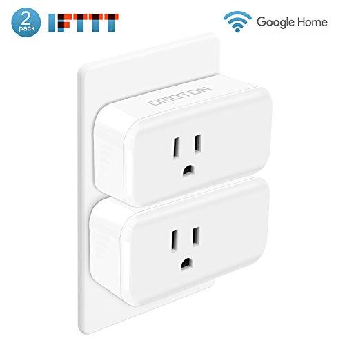 OMOTON [2 Pack] Mini Wifi Smart Plug compatible with Amazon Alexa,Google Home,...