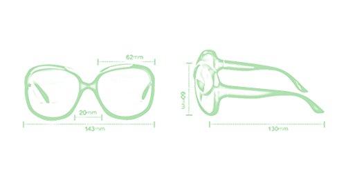 Gafas de de Gafas B Color sol Polarizer protecciónn LYM de mujer Gafas sol amp; de A amp;Gafas Espejo qxnzwf1