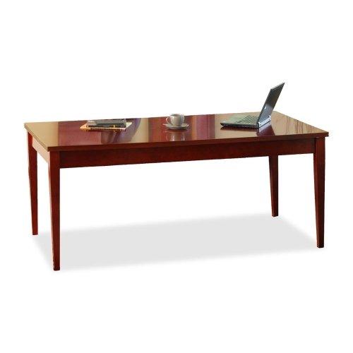 Reeded Wood (Mayline Luminary LTD72 Table Desk - 72