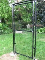 Deer Fence USA 4' Wide x 7' High Access Gate Kit 4' Ground Sleeve