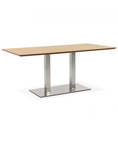 Générique Mesa de Diner Design Recta Natural 90 x 180 x 75 cm ...