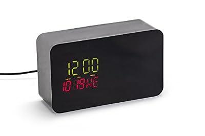 Yi Home Camera Clock Case - Hidden Yi Home Camera Enclosure - The perfect way to hide your Yi Home Camera (Black)
