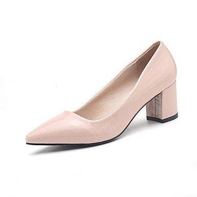 Zormey Tacones Mujer Primavera Verano Otoño Zapatos Club Comfort Pu Oficina &Amp; Carrera Parte &Amp; Traje De Noche Chunky Talón Caminando US7.5 / EU38 / UK5.5 / CN38