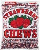 - Albert's Fruit Chews - Strawberry Flavor (240 Candies)