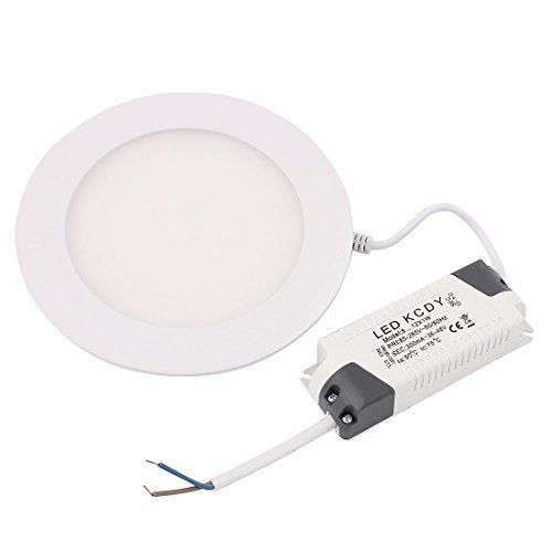 AC 85-265V 9W Rodada Quente teto White LED Light Bulb Painel de baixo da lâmpada by DealMux