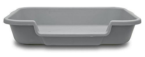 "PuppyGoHere Dog Litter Box by Recycled Gray Color 24""x20""x5"" Training your dog is necessary. Choose the right size for your dog. Great for Senior Cats and Rabbits.Training guide included USA"