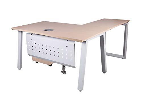 Mahmayi Bentuk 139-16L Oak Modern Workstation