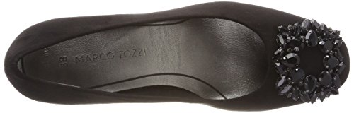 Scarpe con Tozzi Tacco Nero Marco Donna 22443 Black wxRpEqpC