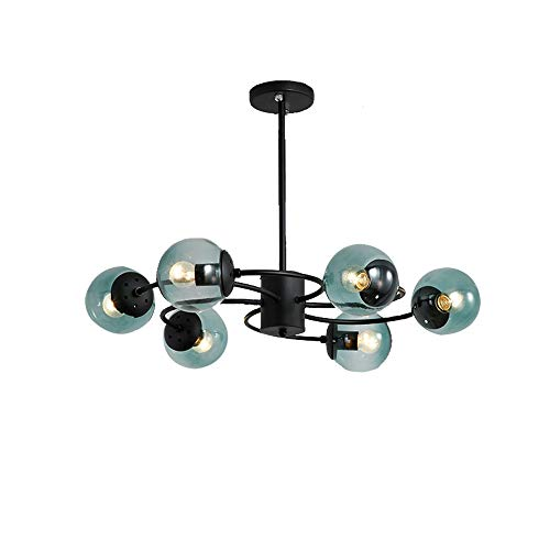 Windsor Home Deco, WH-62790-6, Ceiling Lamp, Glass Ceiling Lamp Flush Mount, 6 Lights Ceiling Lamp, Ceiling Light Fixture, Ceiling Lighting, Bulb Included