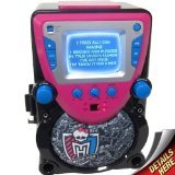 Monster High Karaoke Machine with Screen, 68148