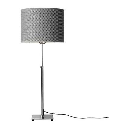 Amazon ikea 20190834 alang table lamp nickel plated gray ikea 20190834 alang table lamp nickel plated gray mozeypictures Gallery