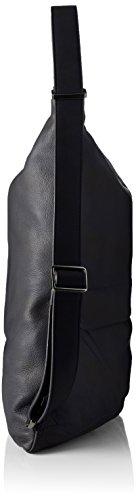 Leather Tracolla Black Duck 0 2 Slide a Mandarina spalla Donna Borse Nero CqEwBXB