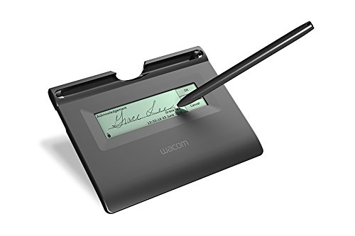 (Wacom STU300B signature tablet)