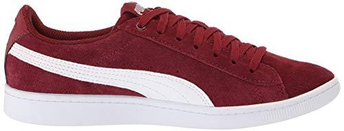 White puma Women's Pomegranate Sneaker Vikky Puma ZX0wqzZ