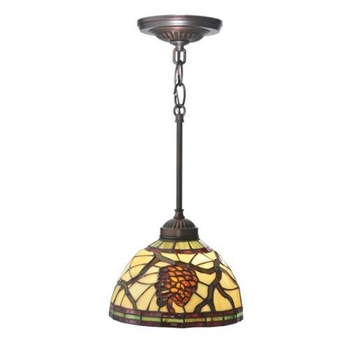 2 Pinecone Pendant Light (Meyda Tiffany 106290 8