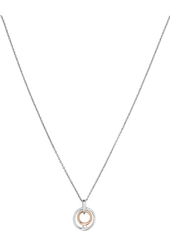 Christ Diamonds-Collier Femme-Or blanc 333ER, 333ER or rose 11000env. 0,03CT. weißgold/Bicolore, One Size