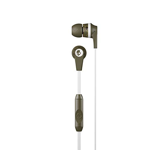 Skullcandy Ink'd Wired in Earphone with Mic  Camo