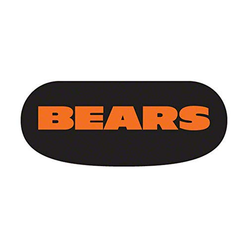 Party Animal Chicago Bears Team Eye Black Strips- 3 Pairs