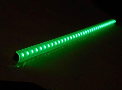 Logisys 16'' LCX16GN 12V 3.0 Watts Corner LED Light Bar (GREEN) - NEW