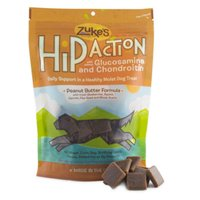 Zuke's Hip Action Natural Dog Treats, Peanut Butter, - Dog Action Treats Hip Zukes