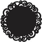 Bulk Buy: Wilton (3-Pack) Doilies 10in. Round 10/Pkgin. Black Swirl W45154