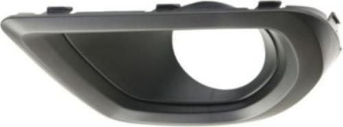 (CPP Textured Black Driver Side Fog Light Trim for 14-15 Subaru Forester SU1038108 )