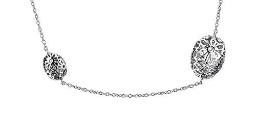 Lily & Lotty - Sautoir - Argent 925 - Diamant 0.001 cts - 60 cm - 0.01.0034