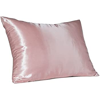 Amazon Com Luxury Satin Pillowcase Hair Standard Satin