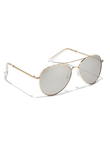 New York & Co. Women's Color Mirror Aviator Sunglasses 0 - Company Sunglasses And York New