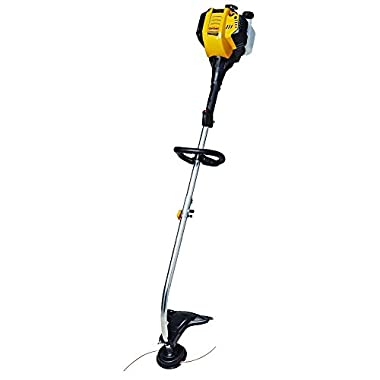 30 cc 4-Cycle Gas Split-Boom Curved Shaft String Trimmer