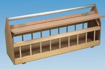 Wooden Pigeon Feeder W Metal Rollerbar 60cm Amazoncouk Pet Supplies