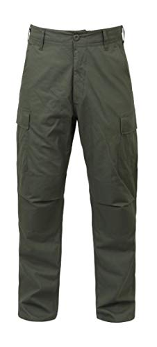 BlackC Sport Olive Drab Military BDU Cargo Rip Stop Fatigue Pants