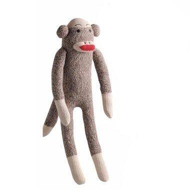 Multipet 784369480849 Sock Pals Monkey 10 inch by MultiPet ()