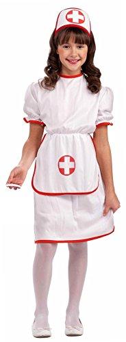 Forum Novelties Classic White Nurse Costume, Child Large (Nurse Costume Child)