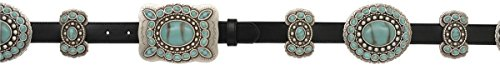 Angel Ranch 1'' Black Ladies' Fashion Belt by Angel Ranch