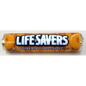 Lifesaver Rum - Lifesavers Butter Rum Candy 20 pack (14 ct per pack)