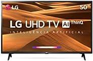 "Smart TV 50"" 50UM7360PSA LG 4K HDR Ativo ThinQ AI Inteligência Artificial DTS Virt"