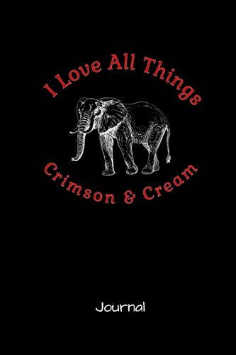 - I Love All Things Crimson And Cream: A Journal for Delta Sigma Theta Sorors