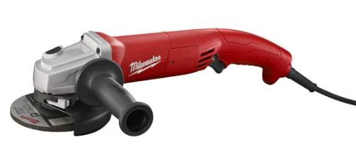 Milwaukee 6121-31A 5-Inch Small Angle Grinder Trigger Grip, AC/DC